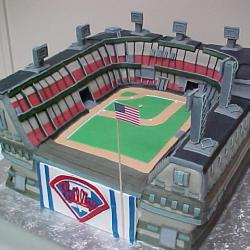 Groom's Cake 2- Philies Stadium
