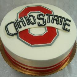 Groom's Cake- Ohio State Logo