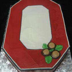 Groom's Cake 10- Ohio State O