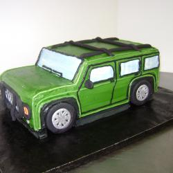 Shaped 100- Green Hummer