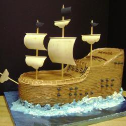 Shaped 104- Pirate Ship
