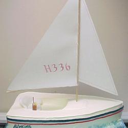 Shaped 105- Sailboat