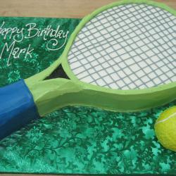 Shaped 114- Tennis Racquet