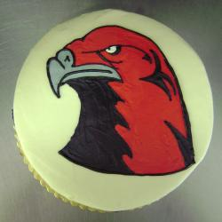Groom's Cake 12- Miami University Red Hawk