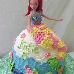 Shaped 130- Mermaid Barbie