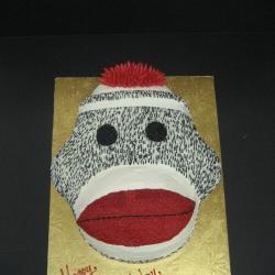 Shaped 132- Sock Monkey