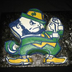 Groom's Cake 16- Notre Dame Fighting Irish Mascot