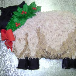 Shaped 17- Christmas Lamb