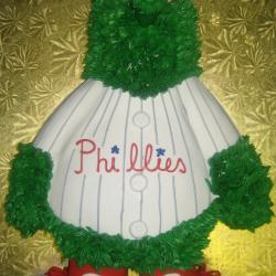 Groom's Cake 17- Phillies Mascot