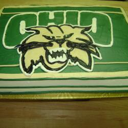 Groom's Cake 19- Ohio University Bobcats