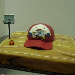 Groom's Cake 21- Basketball Court