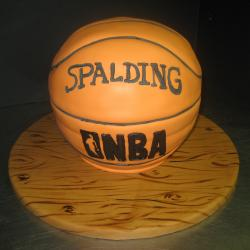 Groom's Cake 22- Basketball