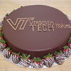 Groom's Cake 24- Virginia Tech