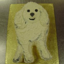 Shaped 25- Poodle