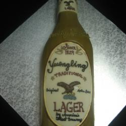 Groom's Cake 29- Yuengling Beer Bottle