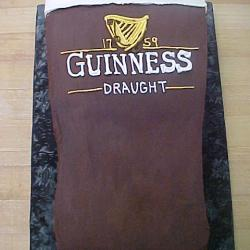 Groom's Cake 33- Guinness Beer