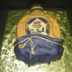 Groom's Cake 35- Crown Royal Bottle