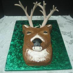 Groom's Cake 42- Deer