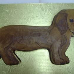 Groom's Cake 42- Wiener Dog