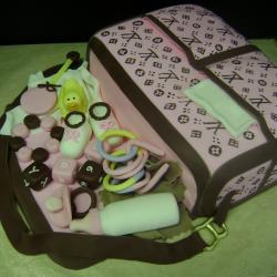 Shaped 44bb- Diaper Bag