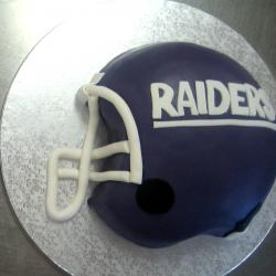 Groom's Cake 5- Oakland Raiders