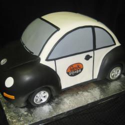 Groom's Cake 51- Geek Squad Car