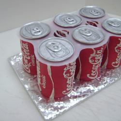 Shaped 58- Coca-Cola 6 Pack