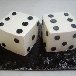 Groom's Cake 58- Dice