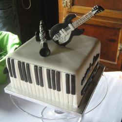 Groom's Cake 61- Musical