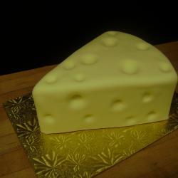 Shaped 61- Swiss Cheese