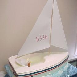 Groom's Cake 66- Sailboat