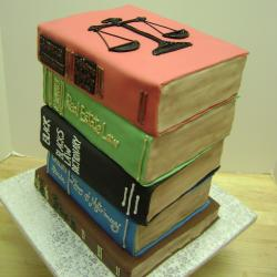 Groom's Cake 67- Books