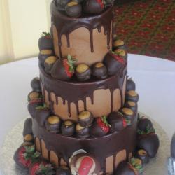 Groom's Cake 69- Buckeye Cake