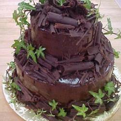 Groom's Cake 70- Chocolate Cake