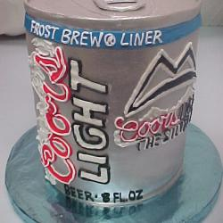 Shaped 82- Coors Lite Can