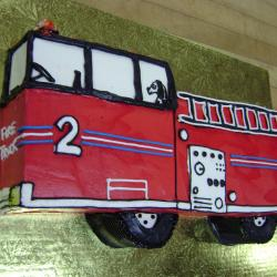 Shaped 94- Red Fire Truck